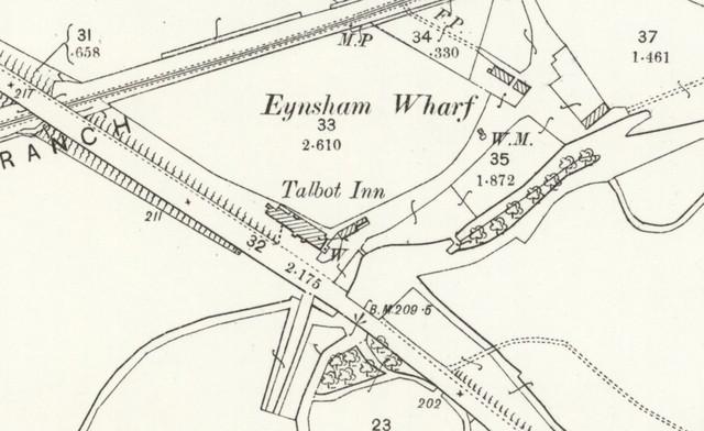 10 1898 25 inch OS Wharf Stream 1898