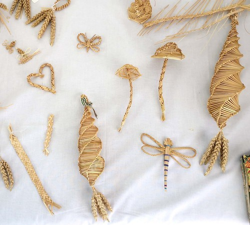 straw work by Penny Maltby